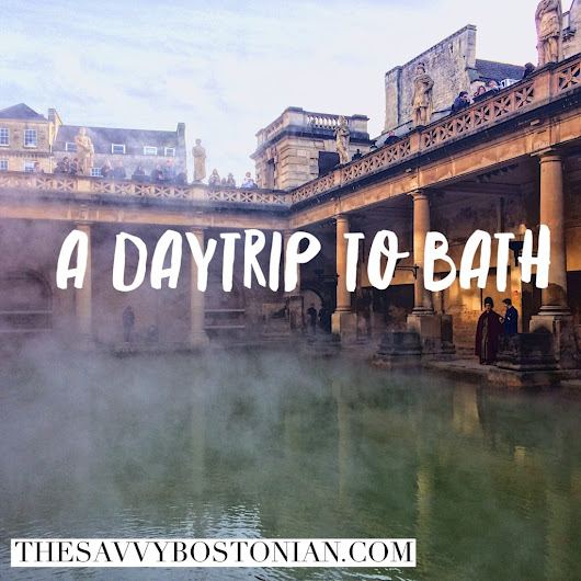 Travel: A Daytrip to Bath UK