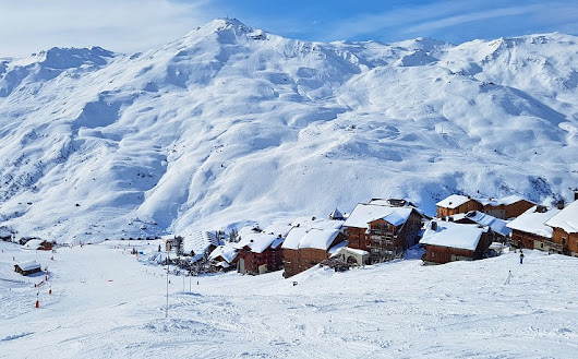 Enjoying Activities On and Off the slopes Les Menuires Ski Resort France - MelbTravel