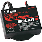 Solar 1.5 Amp Underhood 12V Automatic Battery Charger