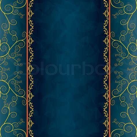 Vintage background for invitation, menu, cover   Stock