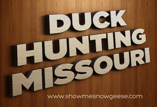 Missouri Duck Hunting - 15 May 2017 - Blog - guided duck hunting trips