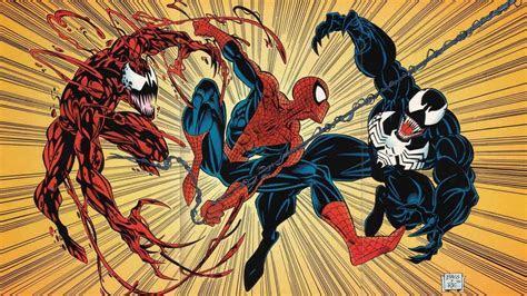 Venom spider man carnage marvel comics wallpaper   (75698)