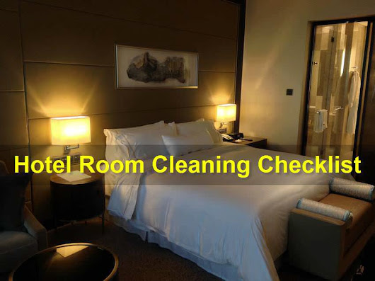 Guest Room Cleaning Checklist | HotelCluster.com Blog