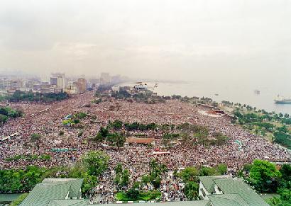 Juan Pablo II en Manila