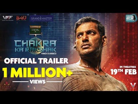 Chakra Ka Rakshak - Official Hindi Trailer | Vishal | M.S. Anandan
