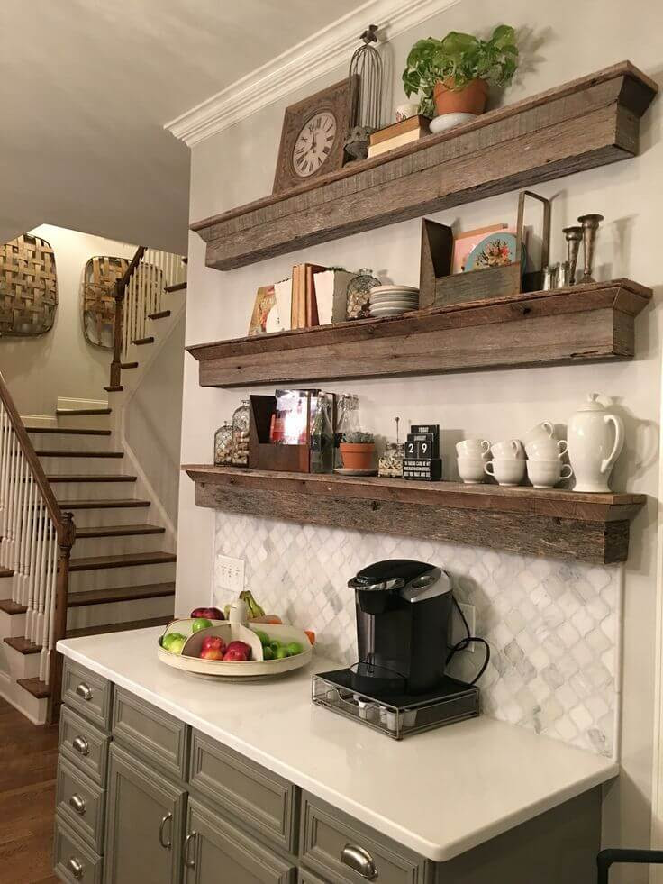 9+ DIY Coffee Bar Ideas And Inspiration at Home Decoration ...