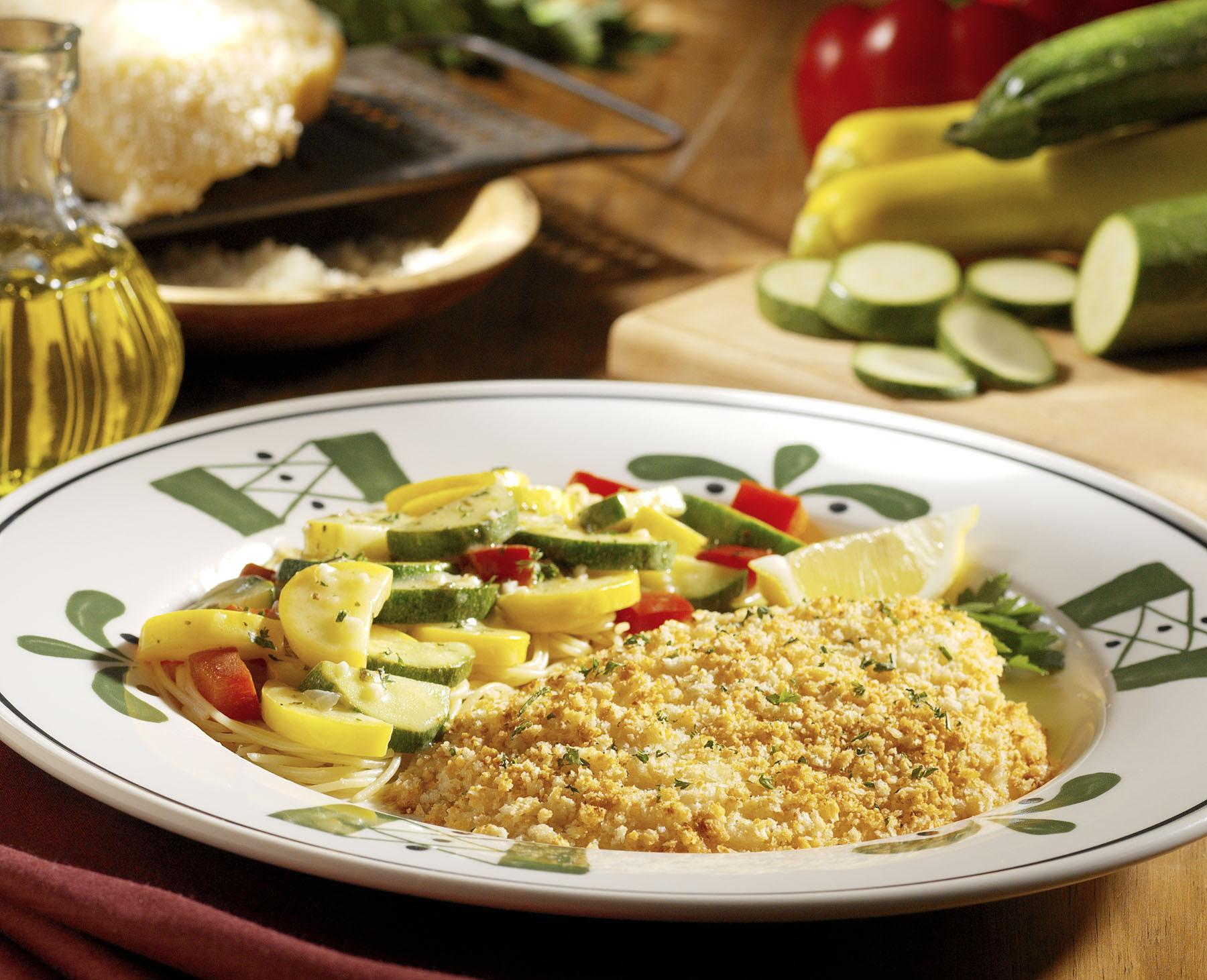 Olive Garden Copycat Recipes Parmesan Crusted Tilapia