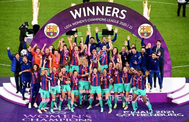 Oshoala wins UCL as Barca hammer Chelsea in final