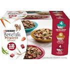 Purina Beneful Prepared Meals Variety Pack Wet Dog Food - 12 pack, 10 oz tubs