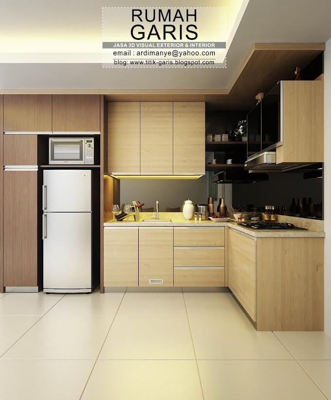 Model Dapur Bentuk U   Ide Rumah Minimalis