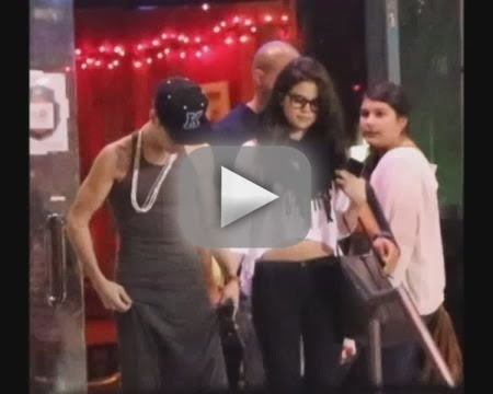 Justin Bieber-Selena Gomez Date Night Fight