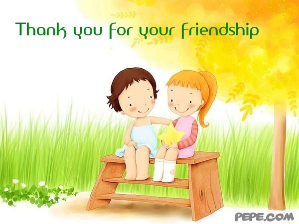 Thank You For Your Friendship Card All About Clipart