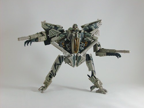 Transformers Starscream RotF Voyager - modo