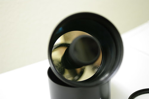 Tamron SP 500mm f/8.0 adaptall-2 55BB with fungus and dirts