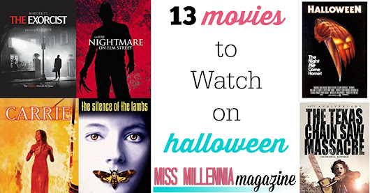 13 Movies to Watch on Halloween