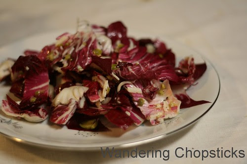 Spanish Radicchio Salad with Manchego Olive Vinaigrette 1