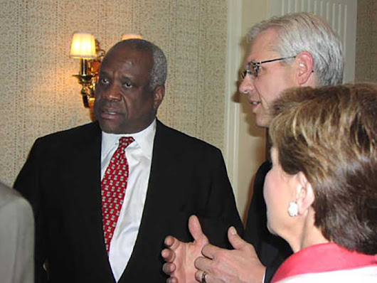 Clarence Thomas Now Dignity-Free After Years Of Suffering