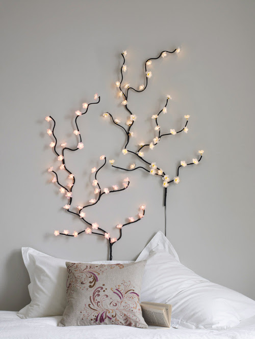 With Christmas Lights Tree Created Strings Of Holiday Whole And Retail Setting Wall Decoration 0 75