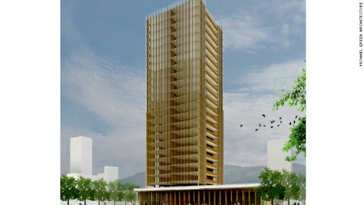 Can wooden skyscrapers transform concrete jungles?
