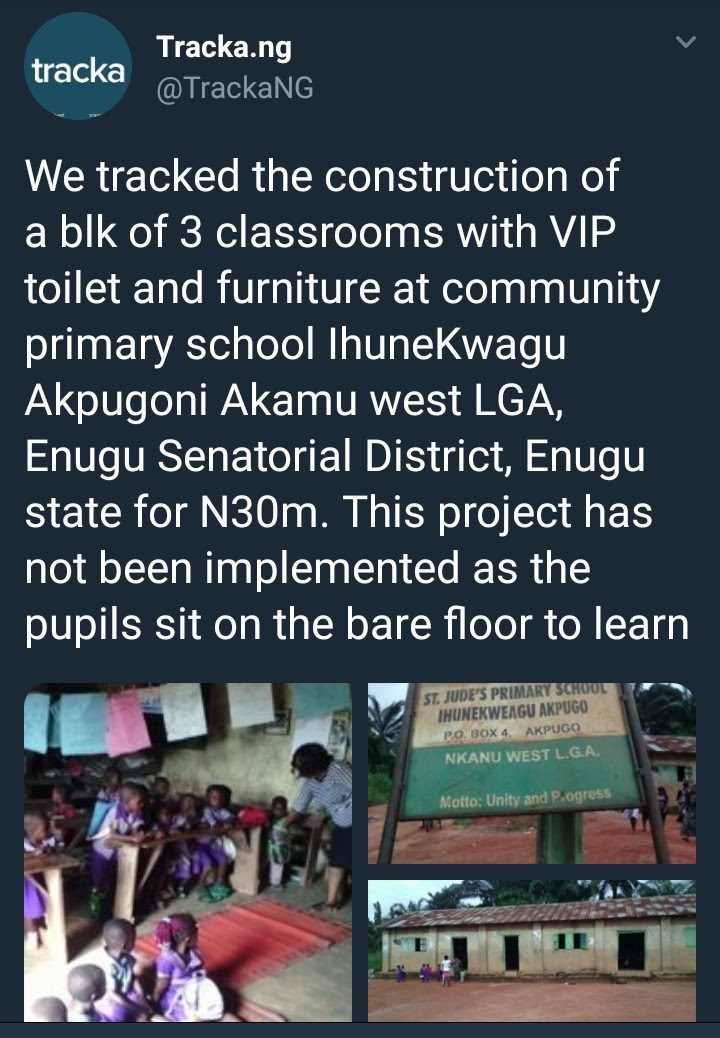 See Deplorable State Of A School In Enugu Despite Allocation Of N30M For Classrooms