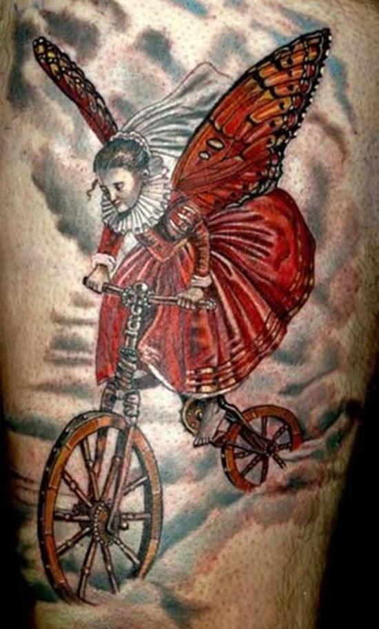 Tatuagem de bicicleta (19)
