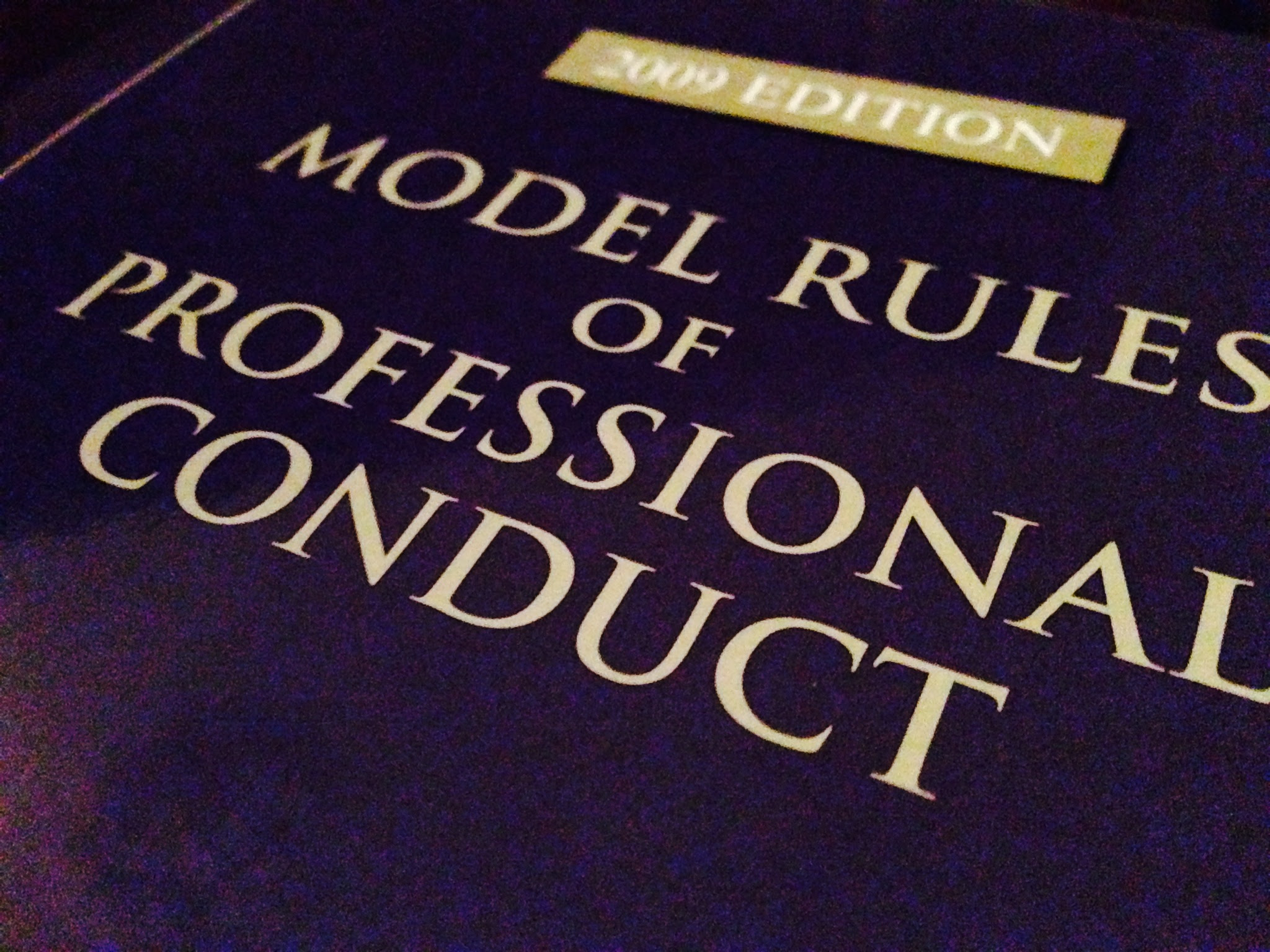 Image result for model rules of professional conduct