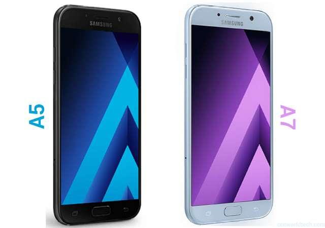 Galaxy A5 and Galaxy A7 2017