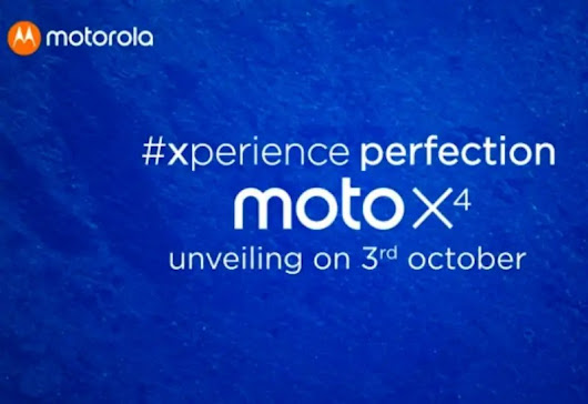 Motorola Announced Launch Date Of Moto X4 In India - TechnoBugg- The latest tech information