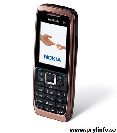 nokia e51 mobiltelefon 4