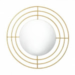 Accent Plus 10018523 Modern Gold Wall Mirror