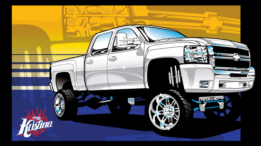 Lifted Truck Drawing At Getdrawings Com Free For Personal Use