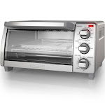 BLACK+DECKER 4 Slice Natural Convection Toaster Oven - Stainless Steel TO1745SSG