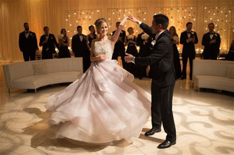 Couples Photos   First Dance in Performing Arts Center