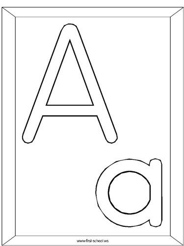 Dibujos Para Colorear Las Letras Del Alfabeto Agridulce
