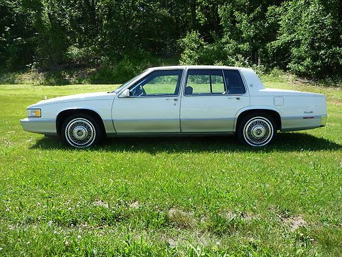 Find used 1990 cadillac sedan deville with 75,000 miles ...