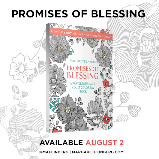 New Adult Coloring Book with Tear-Out Pages: Promises of Blessing - Margaret Feinberg