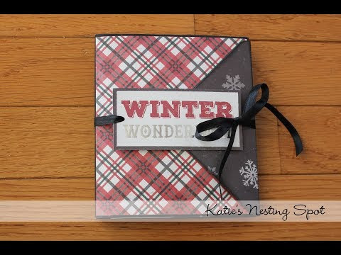 Winter Wonderland Envelope Flip Book Project Share