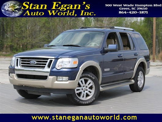 Used 2007 Ford Explorer for Sale in Greer SC 29650 Stan Egan's Auto World