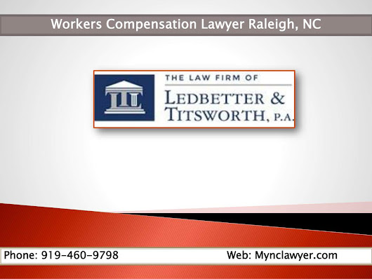 Workers Compensation Attorney Lawyer Raleigh, NC