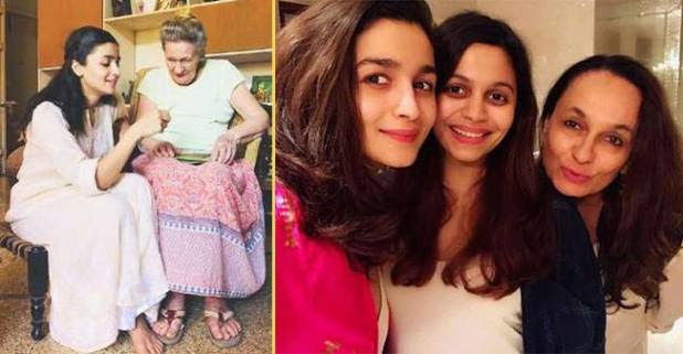 Family comes first for alia Bhatt!! Photos are the proof