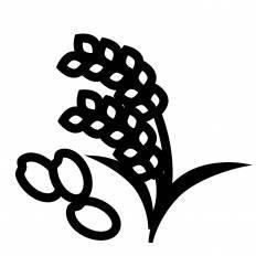 米アレルギーシルエット イラストの無料ダウンロードサイト