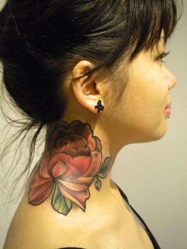 81 Sweet Neck Tattoos For Women