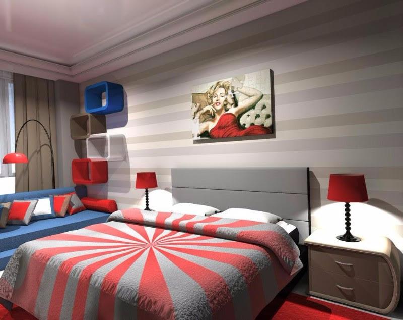 Modern Interior Design Styles Pop Design For Bedroom Master