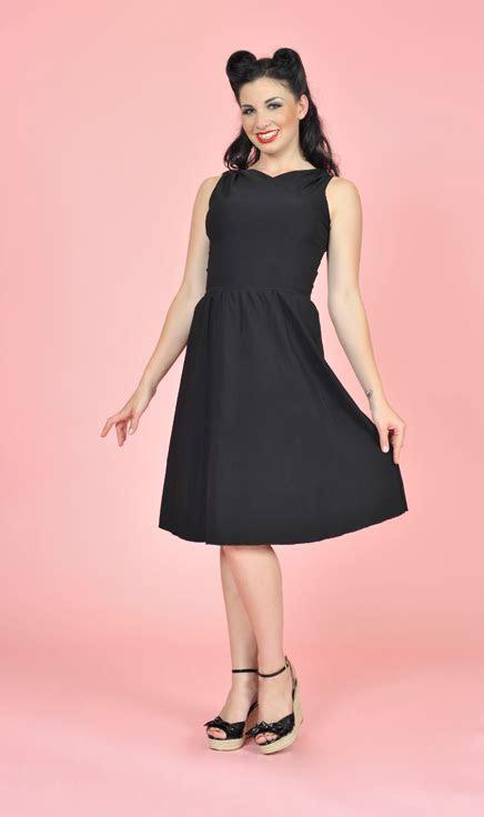 Black Pin Up Dress   Plus Size Pin Up Dress   Annett