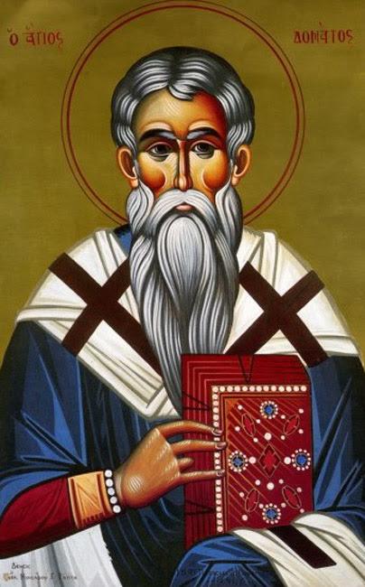 IMG ST. DONATUS, the Bishop of Euroea in Epirus