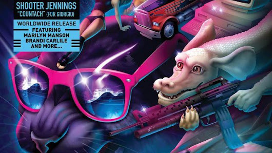 Richard Garriott Has a Guest Appearance on Shooter Jennings' Giorgio Moroder Tribute Album