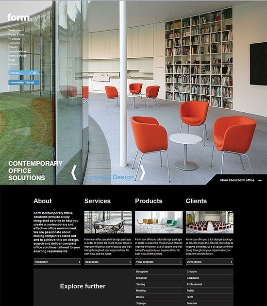 Amazing web design ideas stay up to date with daily web for Daily design news