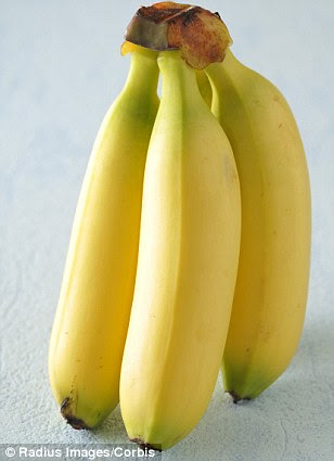 Colorful conclusions: The study found women had sharper image when it came to subtle differences in color. It means women may better equipped at spotting yellow and green differences such as a ripe banana