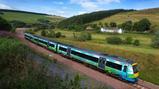 Delays hit Borders Railway's first birthday - BBC News