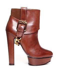 fashion world chocolate high heel shoes